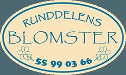 Runddelens Blomster Logo